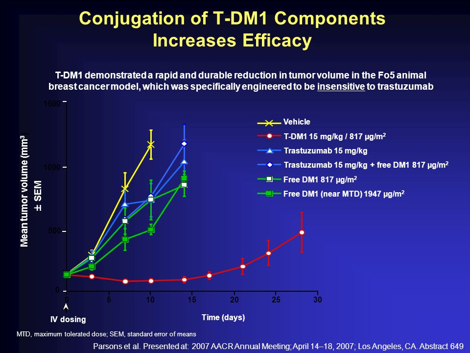Conjugation of T-DM1 Components Increases Efficacy