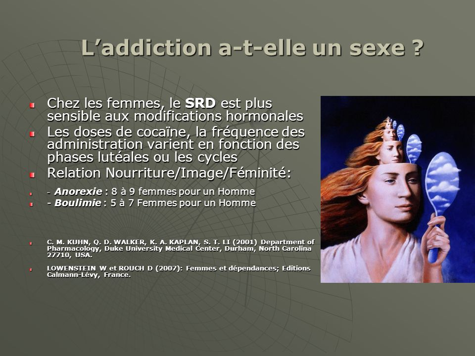 L'addiction a-t-elle un sexe