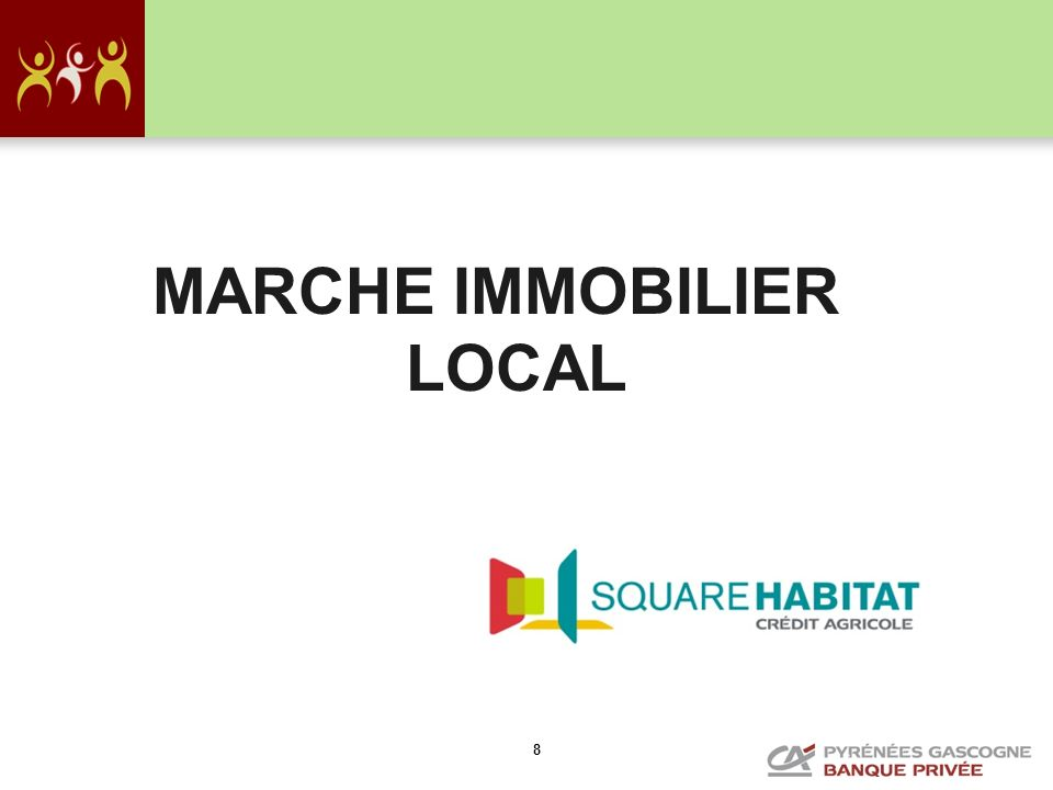 MARCHE IMMOBILIER LOCAL
