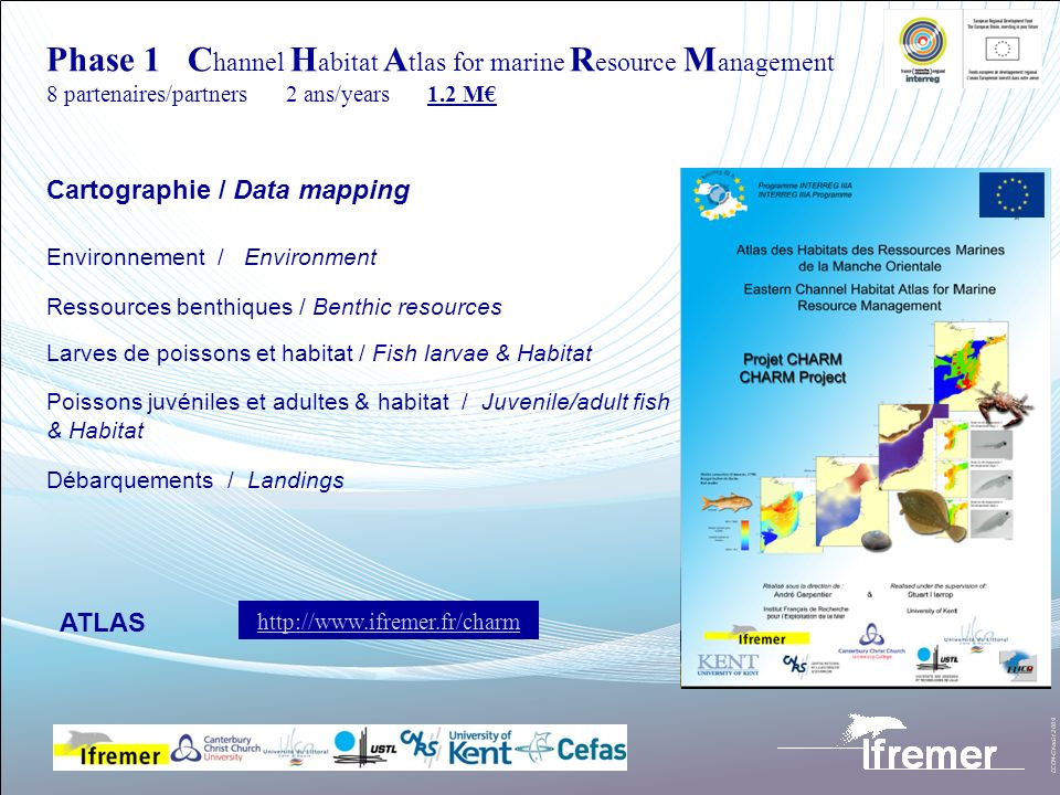 Phase 1 Channel Habitat Atlas for marine Resource Management