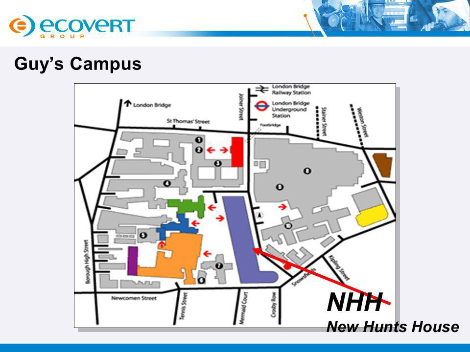 Guy's Campus NHH New Hunts House