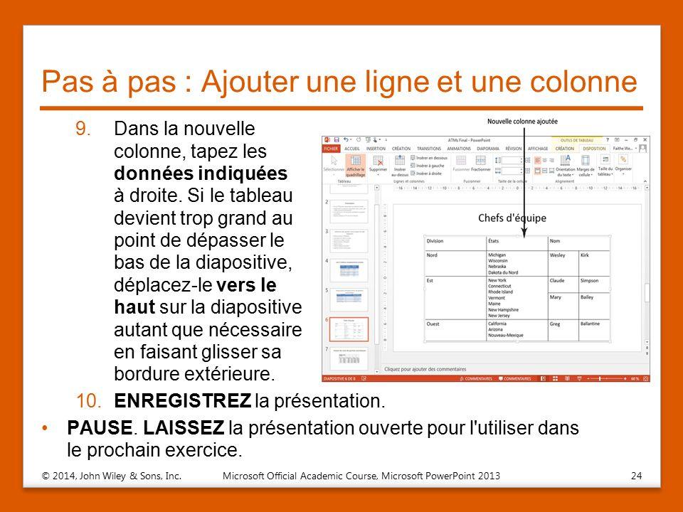 Ajout De Tableaux Dans Les Diapositives Ppt Télécharger