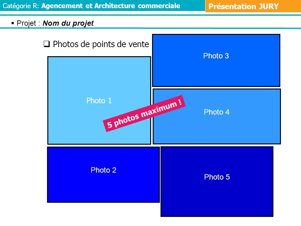 Photos de points de vente