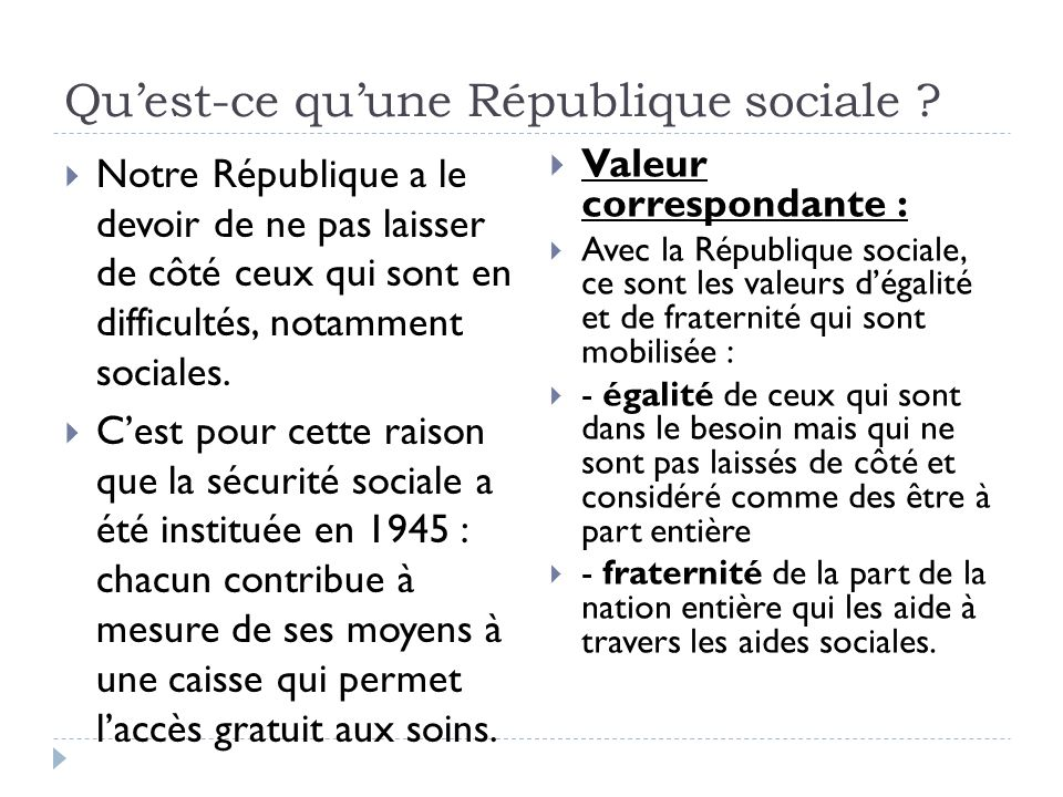 Valeurs Principes Et Symboles De La Republique Ppt Video Online