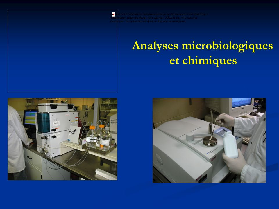 Analyses microbiologiques