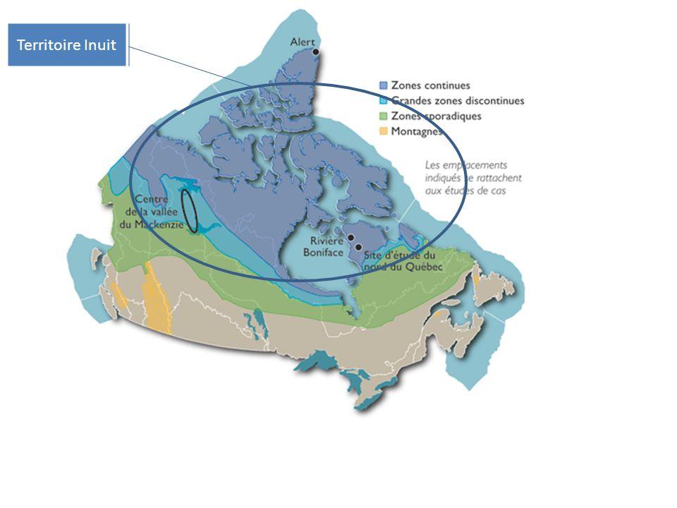 territoire inuit carte