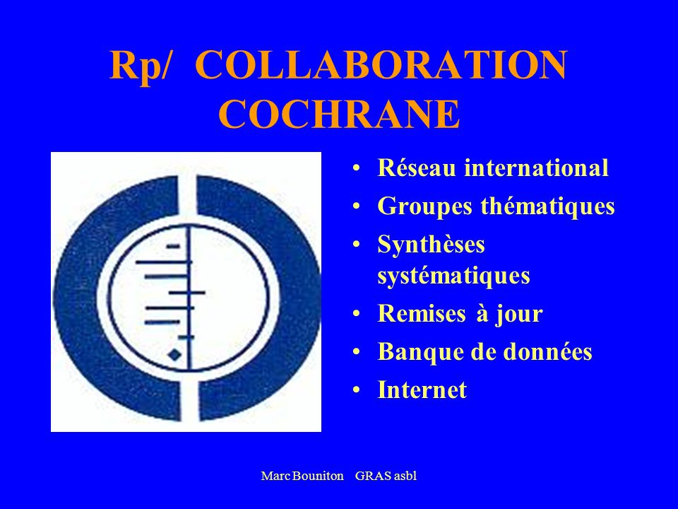 Rp/ COLLABORATION COCHRANE