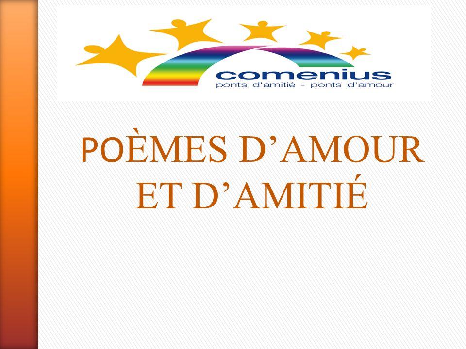 Poèmes Damour Et Damitié
