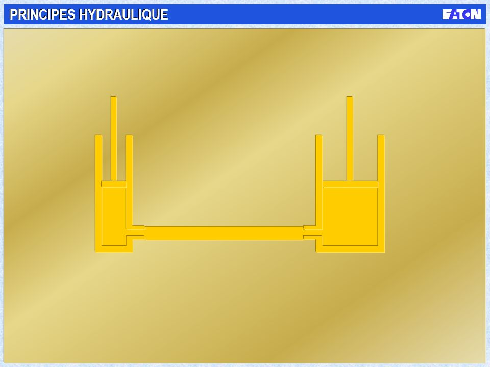 PRINCIPES HYDRAULIQUE
