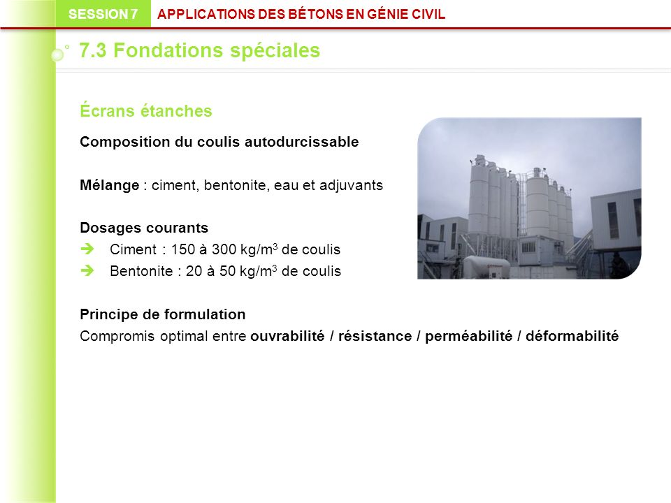 09 05 10 fondations sp ciales ppt video online t l charger. Black Bedroom Furniture Sets. Home Design Ideas