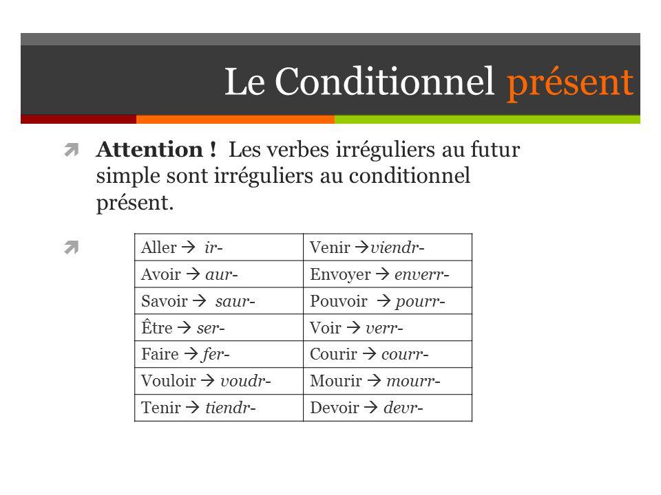 Conjugaison Verbe Courir Conditionnel Present