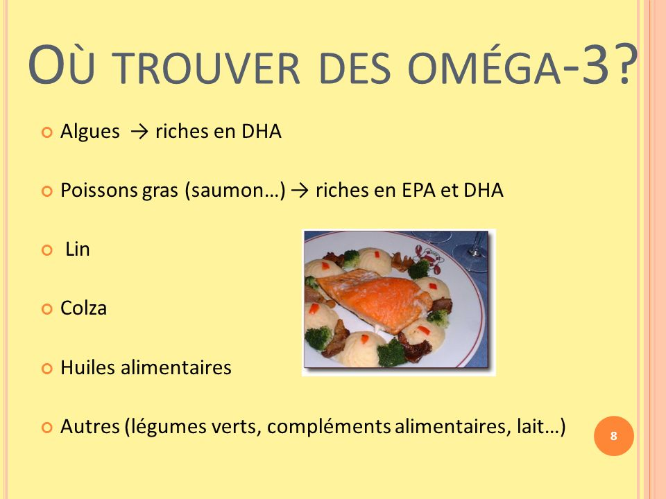aliments riches omega 3