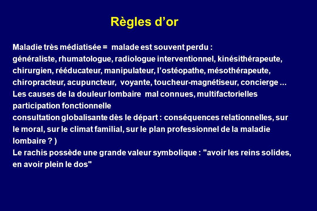 Sémiologie du rachis : Lombalgies, sciatiques, cruralgies et ...