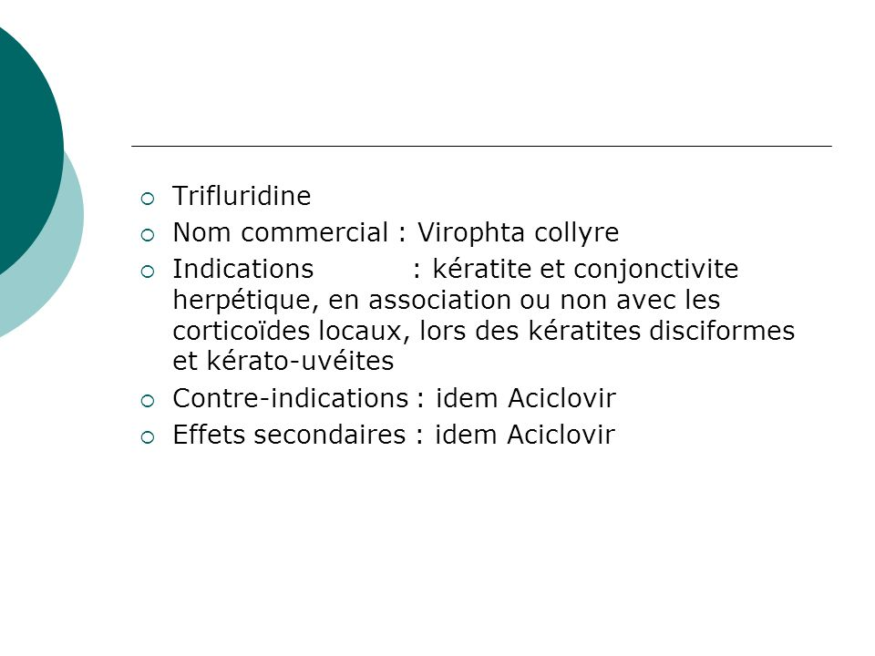 traitement ophtalmo collyre aminoside avec dexamethasone