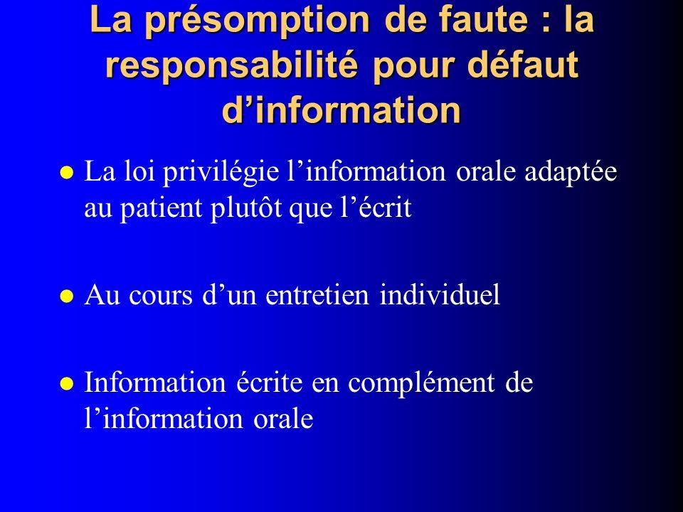 Dissertation responsabilite pour faute