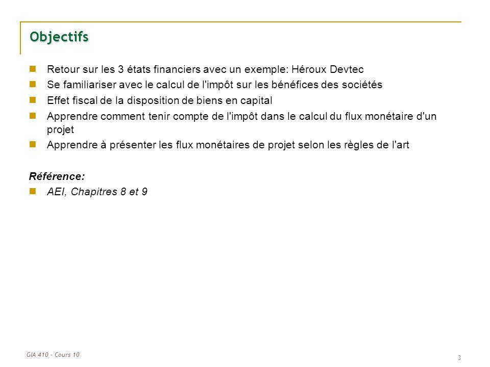 Cours 10 L Analyse De Rentabilite De Projets Apres Impots Ppt