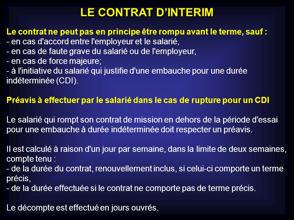 Le Contrat Ppt Telecharger