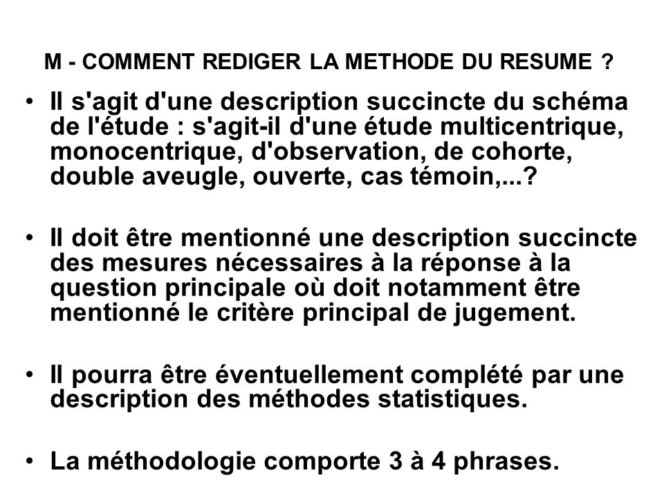 comment faire un r u00e9sum u00e9 d u2019article