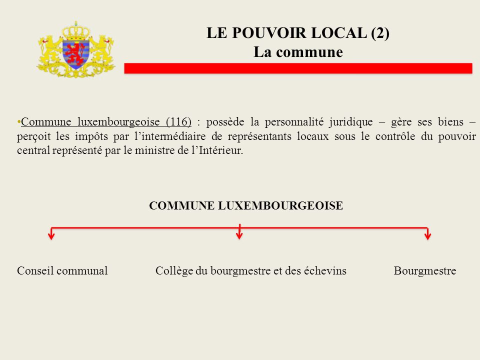 COMMUNE LUXEMBOURGEOISE