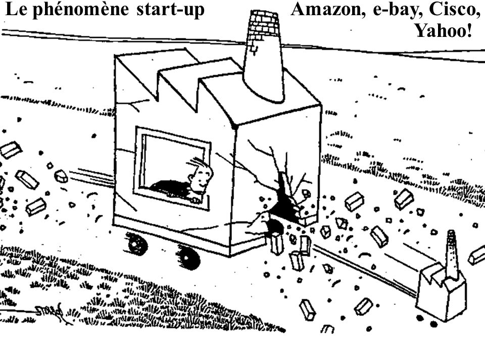 Le phénomène start-up Amazon, e-bay, Cisco,
