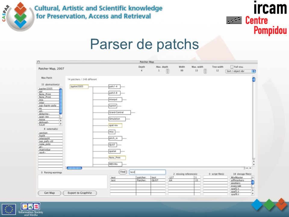 Parser de patchs We now put the emphasis on the last point, i.e. setting domain ontologies
