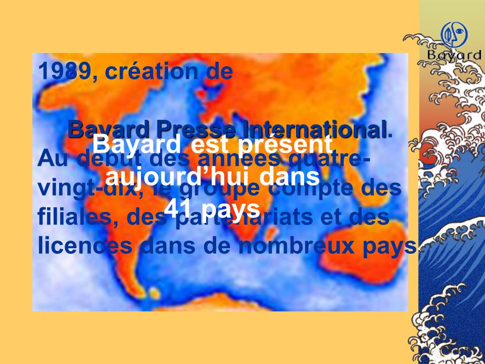 Bayard Presse International.