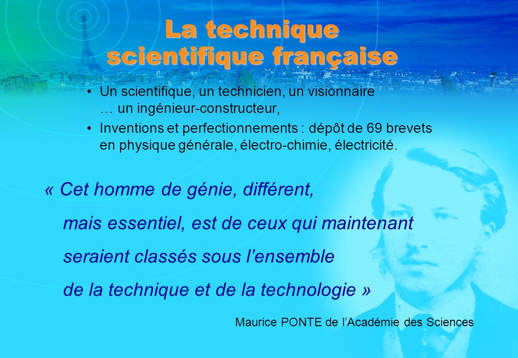 La technique scientifique française