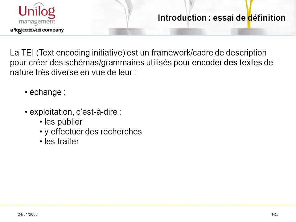Introduction : essai de définition
