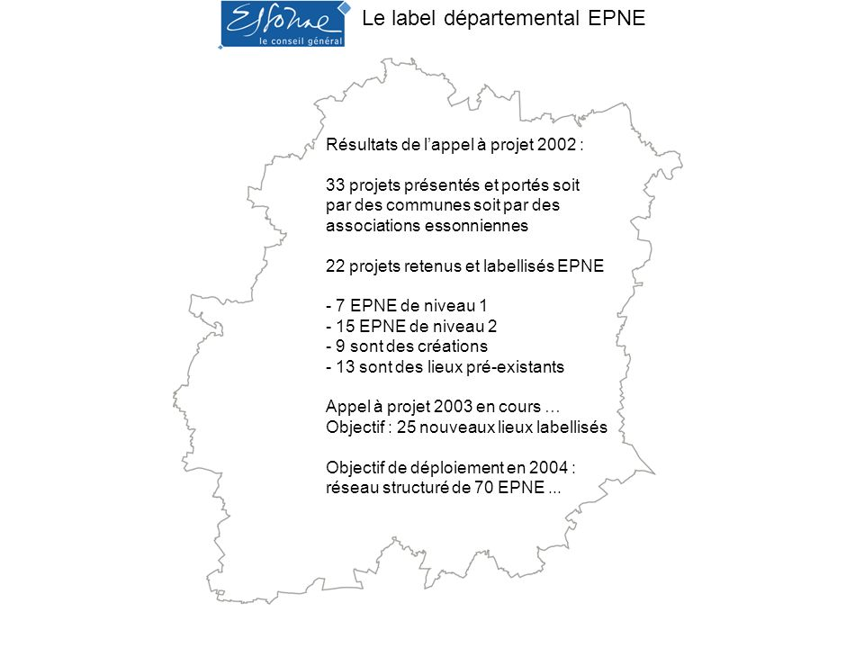 Le label départemental EPNE