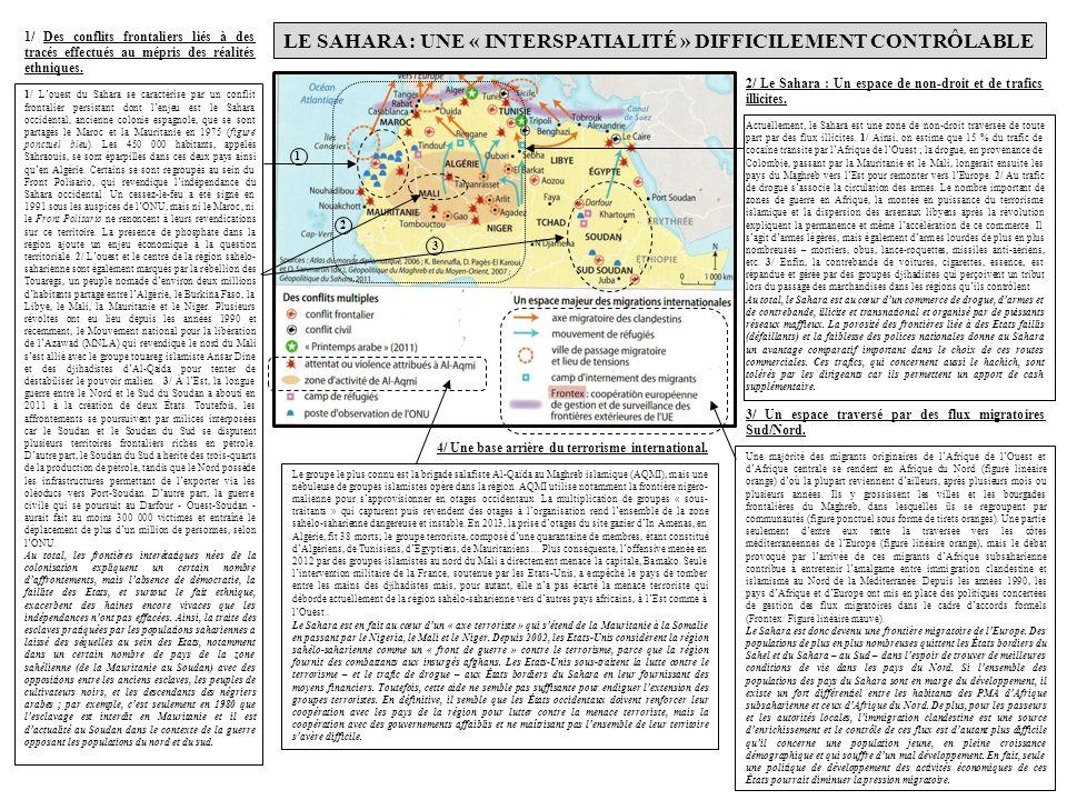 Le Sahara Une Interface Qui Cristallise La Majeure border=