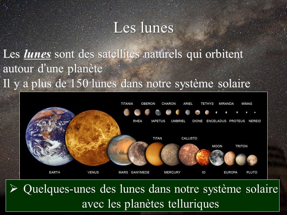 sont les planetes du systeme solaire