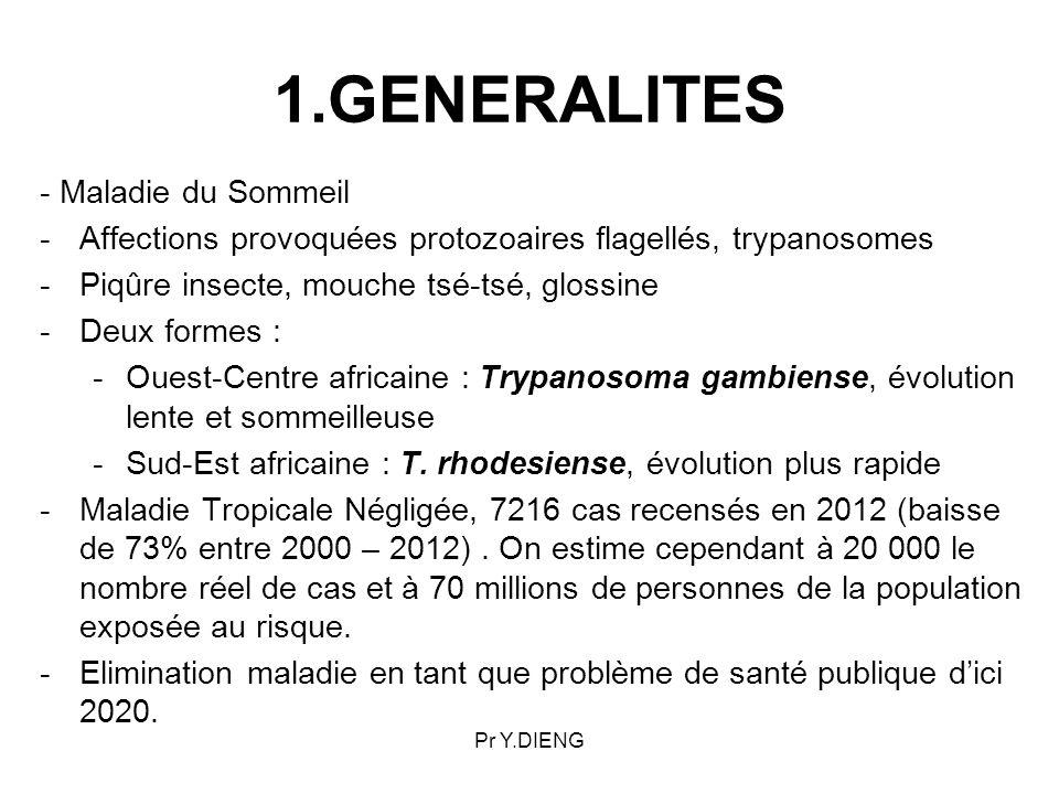 TRYPANOSOMIASES HUMAINES AFRICAINES - ppt video online télécharger