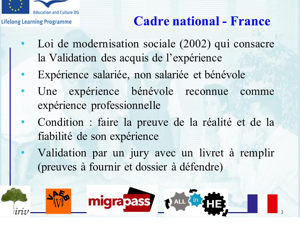 Cadre national - France
