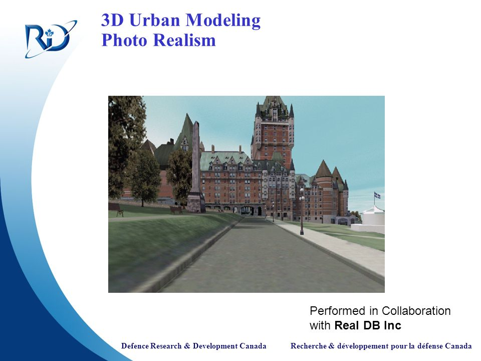 3D Urban Modeling Photo Realism