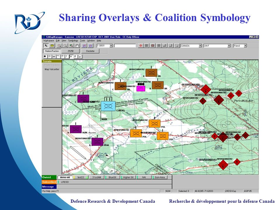 Sharing Overlays & Coalition Symbology