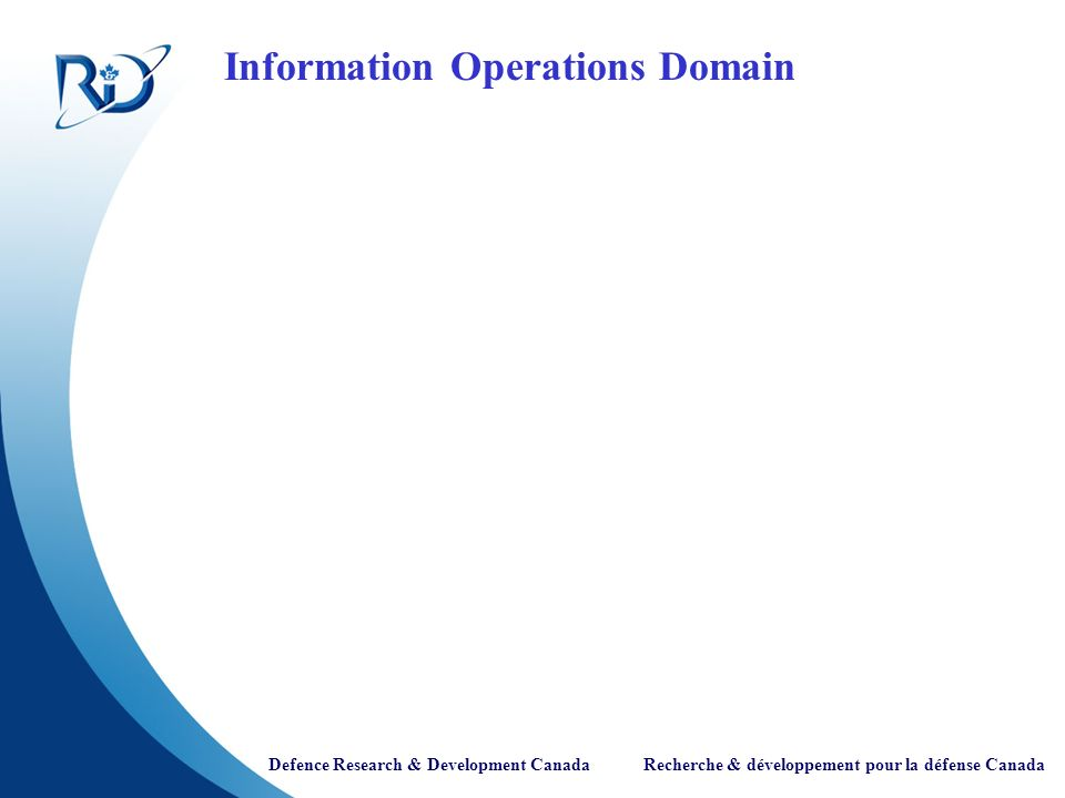 Information Operations Domain