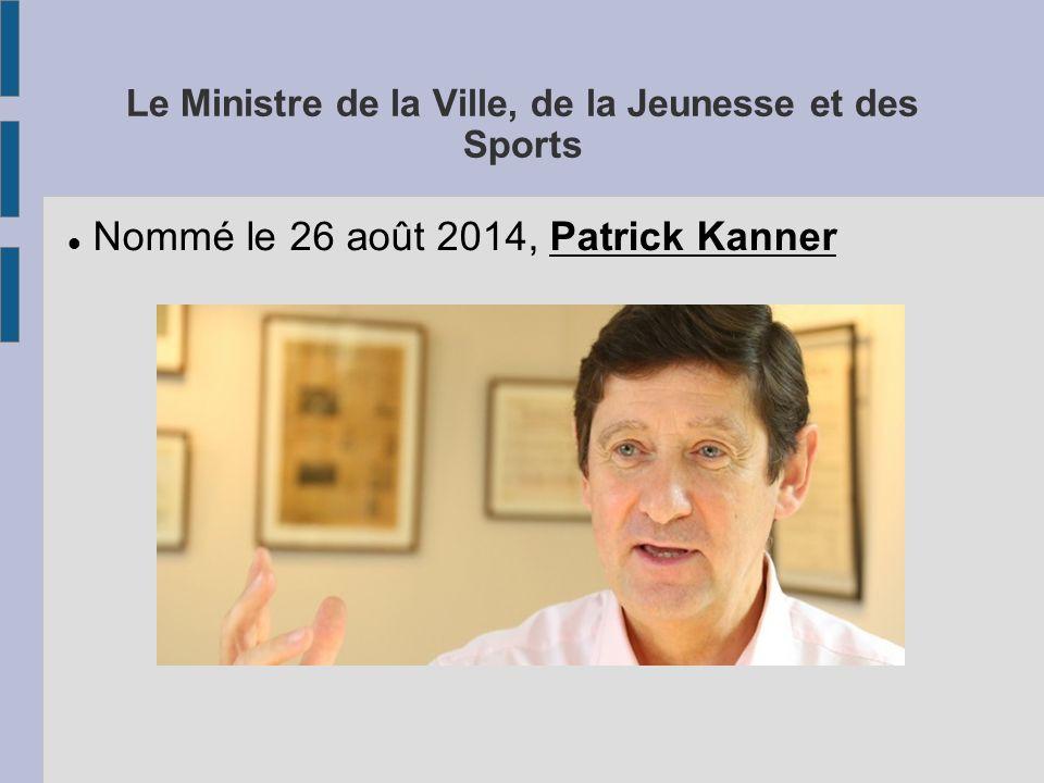ministère ville jeunesse et sport