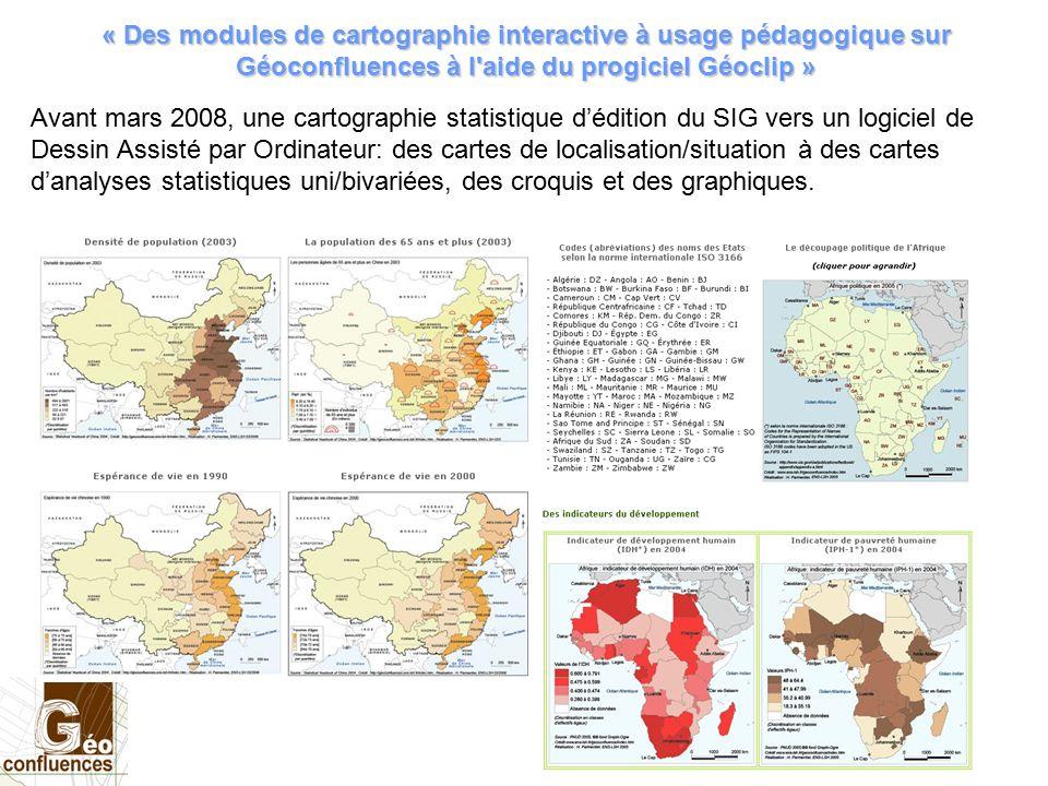 Carte De Lafrique Interactive.Des Modules De Cartographie Interactive A Usage Pedagogique Sur