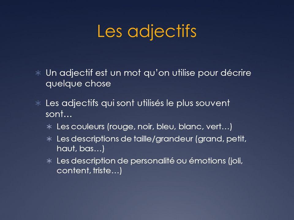 Couleur Qui Sont Des Choses les adjectifs un gros cochon rose!. - ppt video online télécharger